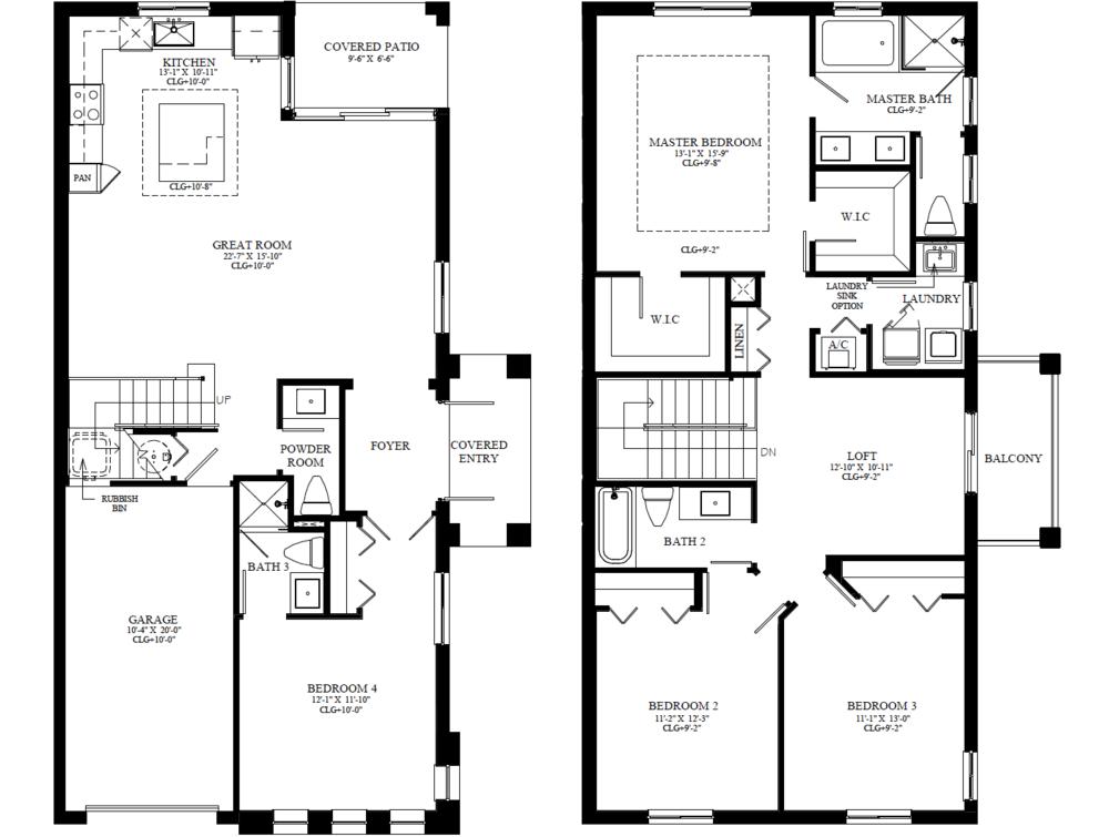 Emerson Floorplan
