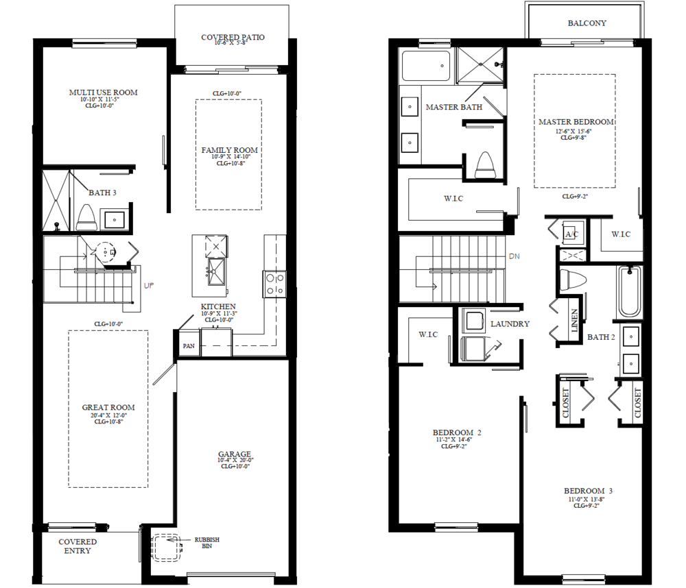 THE CHLOE FLOORPLAN