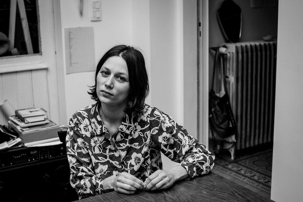 Portret van Oshin Albrecht door Emilie Bonjé