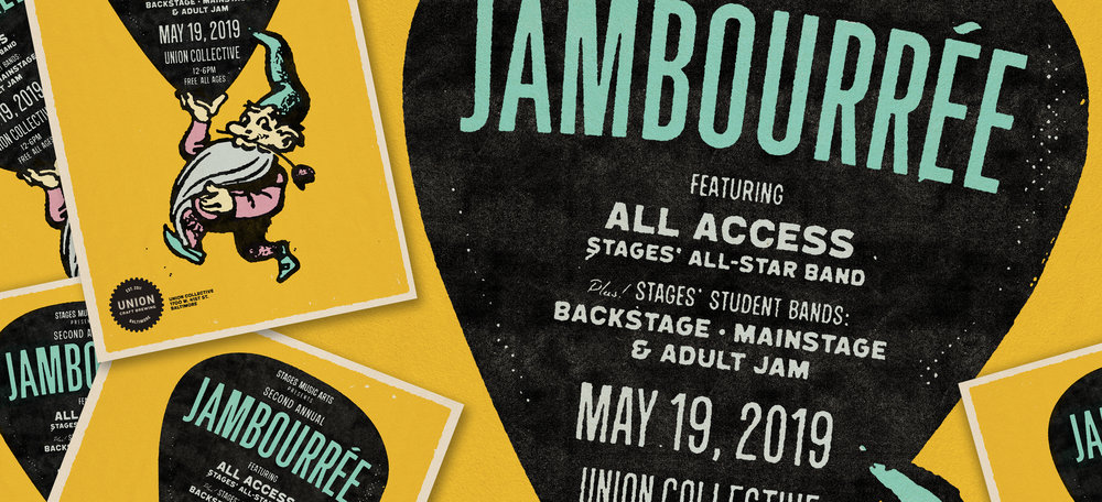 Stages Music Arts' 2nd Annual JamBourrée - Sunday, May 19th12:00PM – 7:00PMUNION Collective