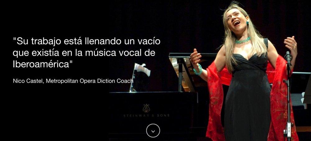 Patricia Caicedo español