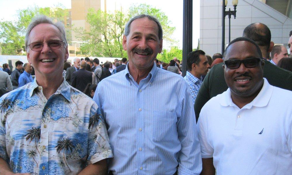 Joe Manzi, Mike Leutwyler, and Percy Johnson  Housing California, Sacramento
