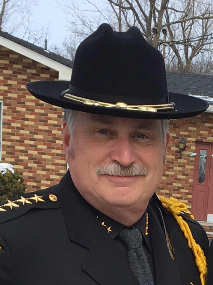 County Sheriff Carl Dubois