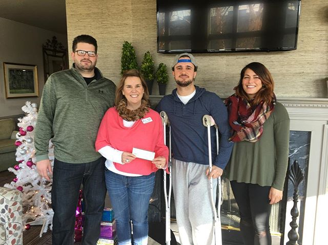 Today we re-visited @rmhdelaware where we donated $10,000, in which we will continue our sponsorship of our 2018 room, in addition to sponsoring an additional second room going into 2019. Families travel long distances for their child to be treated at @nemourschildrens hospital, sometimes having to stay for weeks and even months at a time. Our sponsorship will help ensure every family has a home away from home while their child is being treated at the hospital. Last week 42 out of their 50 rooms were occupied. Thank you to everyone who donated their time, money, a toy donation, their efforts and attention over the last month to help create something special. It's good to see where all of our efforts come into play. Sorry we didn't have one of those over sized Happy Gilmore golf tournament checks. #motorcyclesanta302 #motorcyclesanta #charity #nonprofit #ronaldmcdonaldhouse #girlswholift #dogsofinstagram #kawasaki