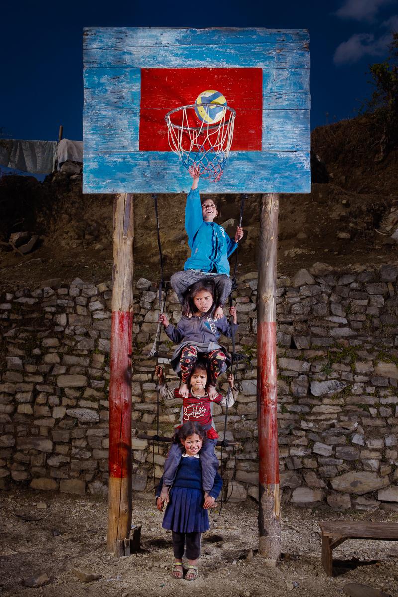 JEUNES NÉPALAISES, NEPAL, 2013
