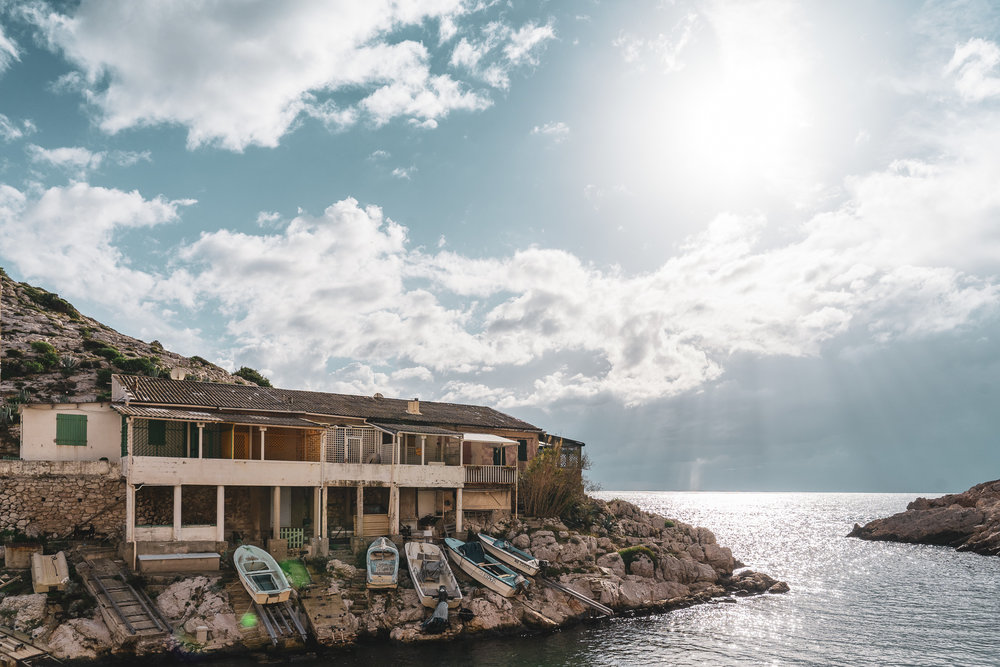 Callanque de Callelongue, in the south of Marseille.