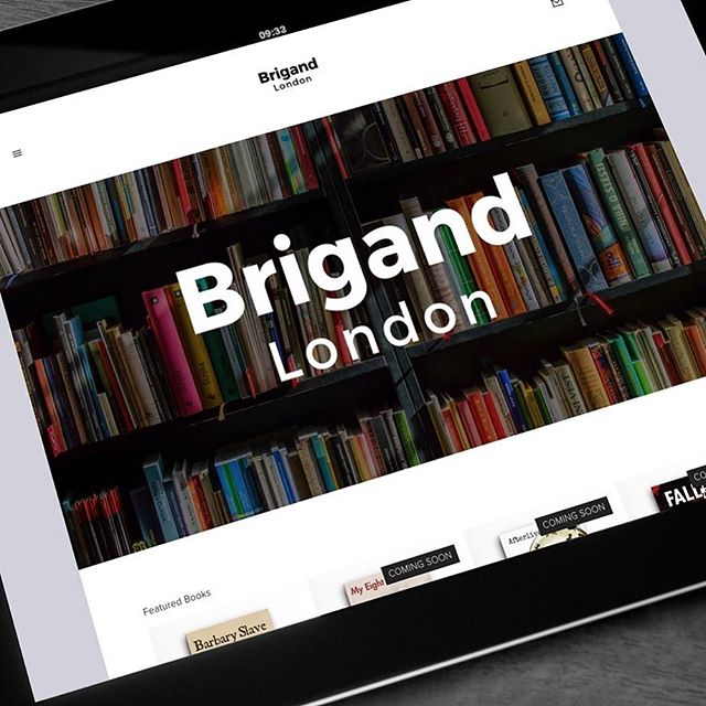 We are live, please visit www.brigand.london