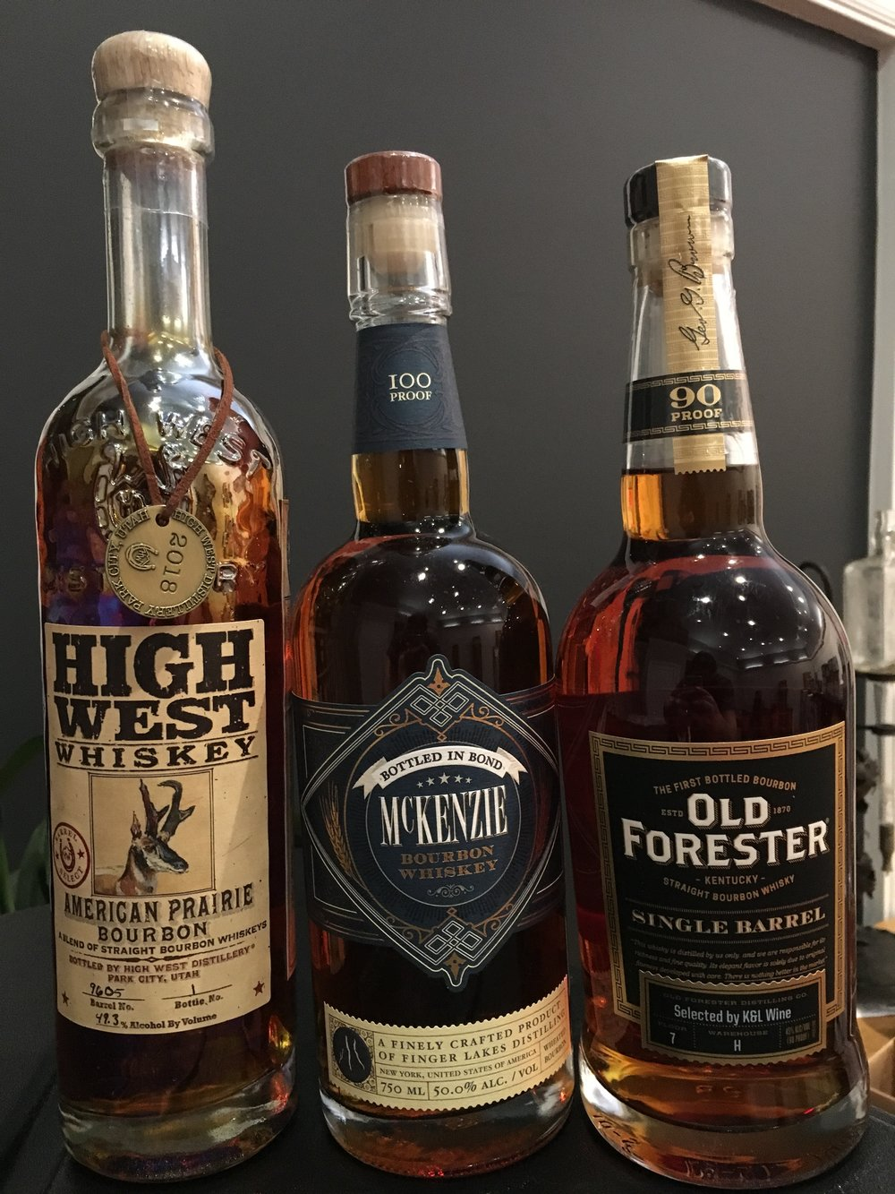 A trio of fine bourbons for gifting or enjoying yourself.