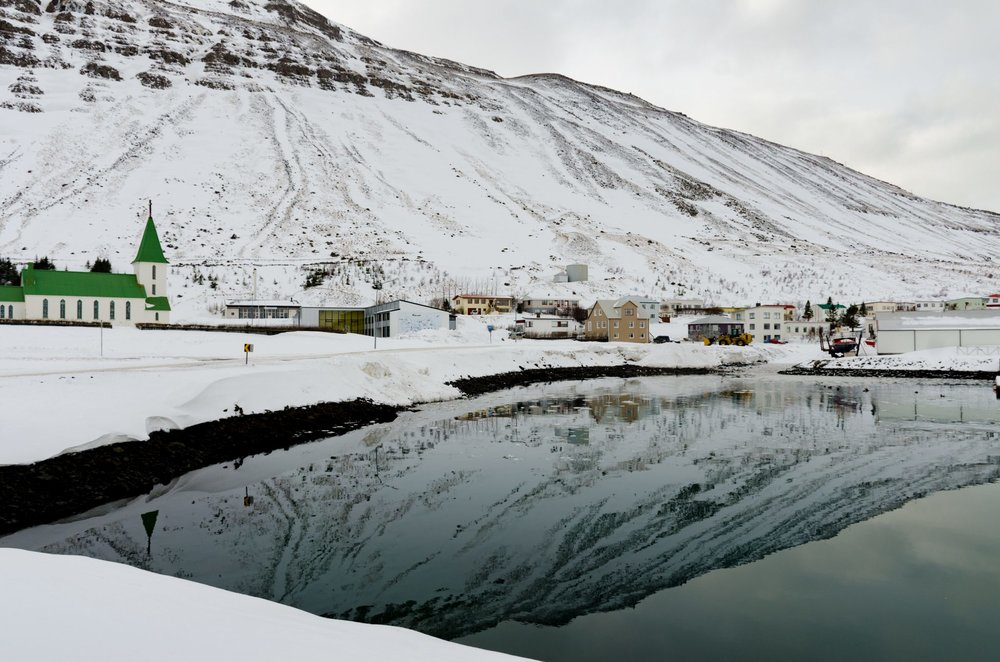 Ísafjörður in Winter - © Mike Best