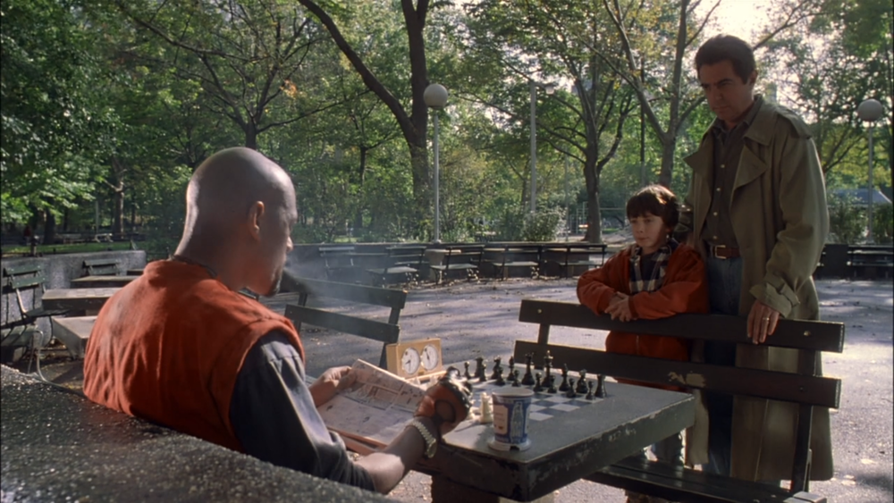 From  Searching for Bobby Fischer -  Mirage Entertainment