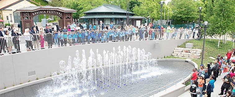 Chorus fountain