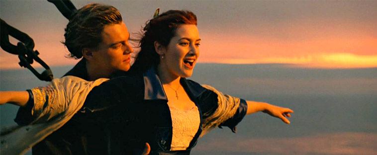 Titanic Movie Scene