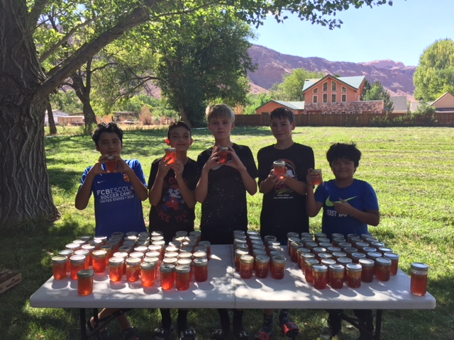 Help a Dream come true - Traveling to Spain is expensive, so their fundraising effort will need to match their training effort! The players will be making peach jam, home-made dog biscuits, holiday cookies, and selling hot chocolate this winter.