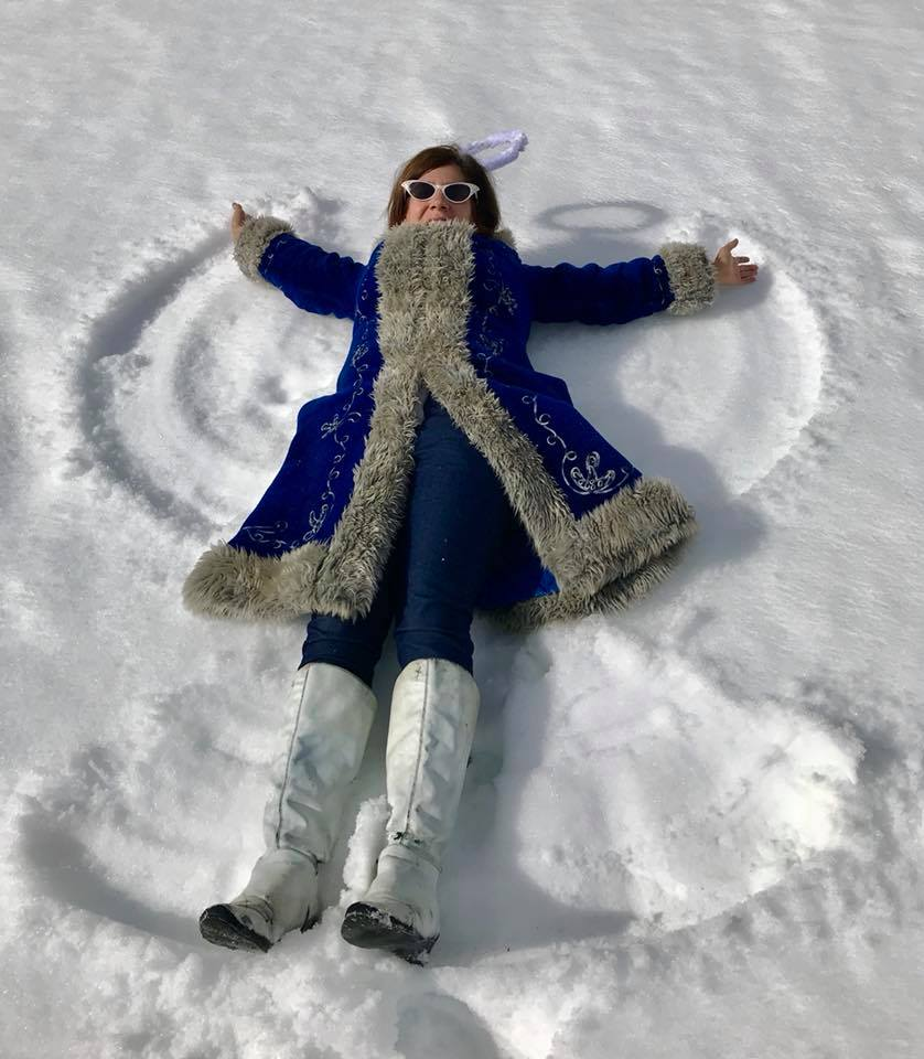Day 40 Snow Angel on Heavenly