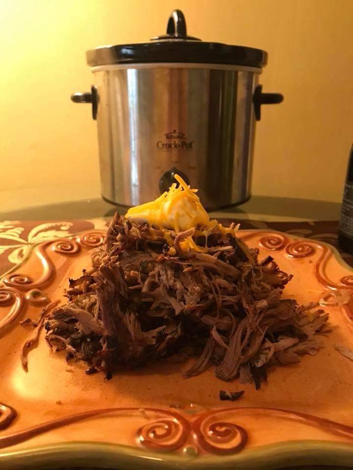 Day 51 Pile of Carnitas. Homemade!