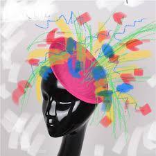 Day 88 Fascinator design made with the Markup tool on my iPhone.