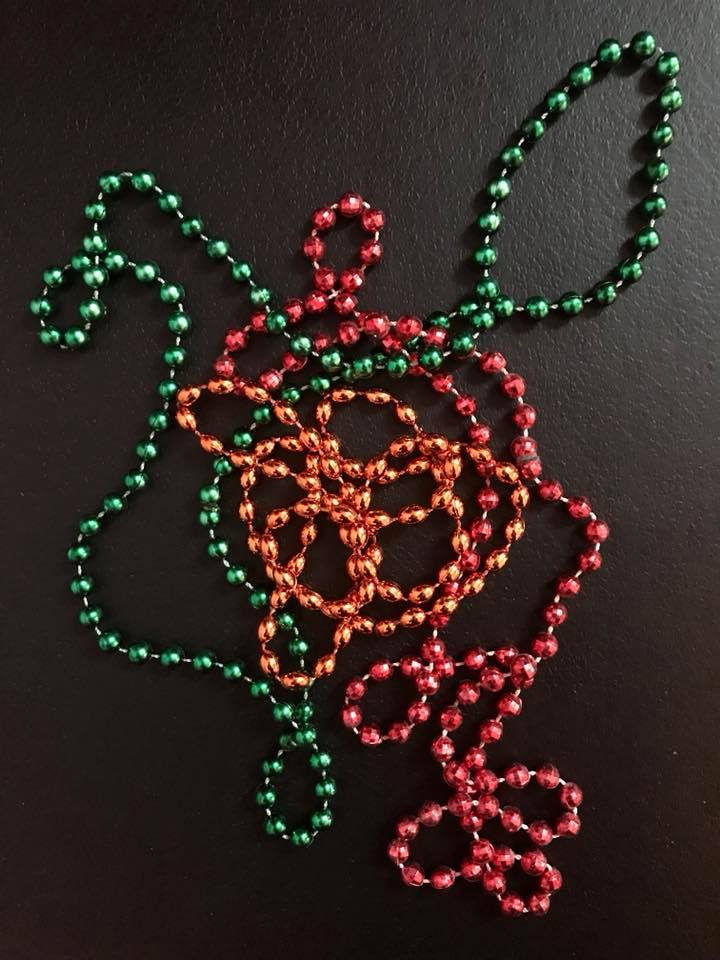 Day 118 A design with beads