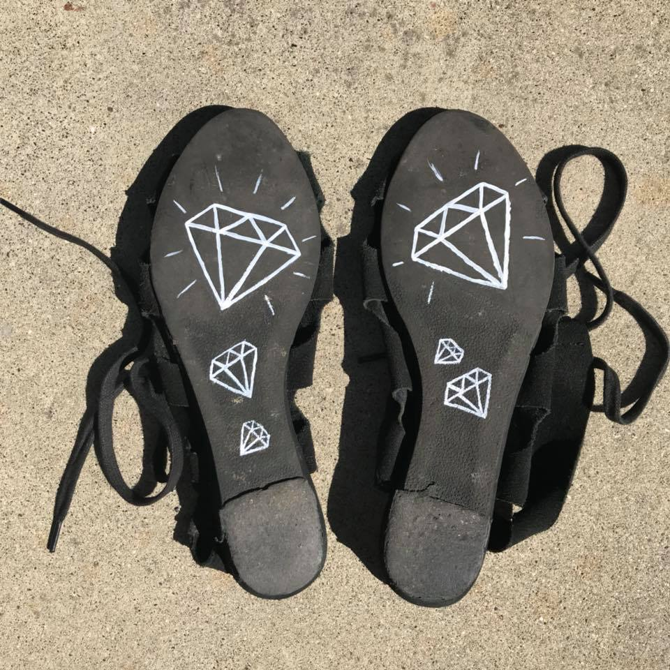 Day 151. Got Diamonds on the Soles of My Shoes