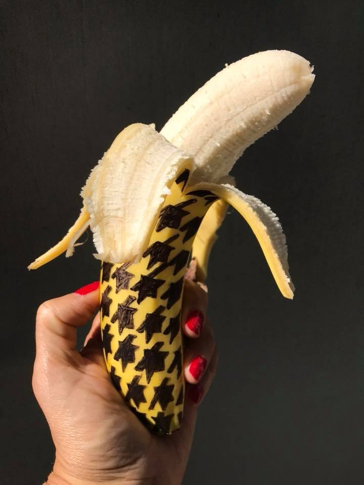Day 172. Houndstooth Banana
