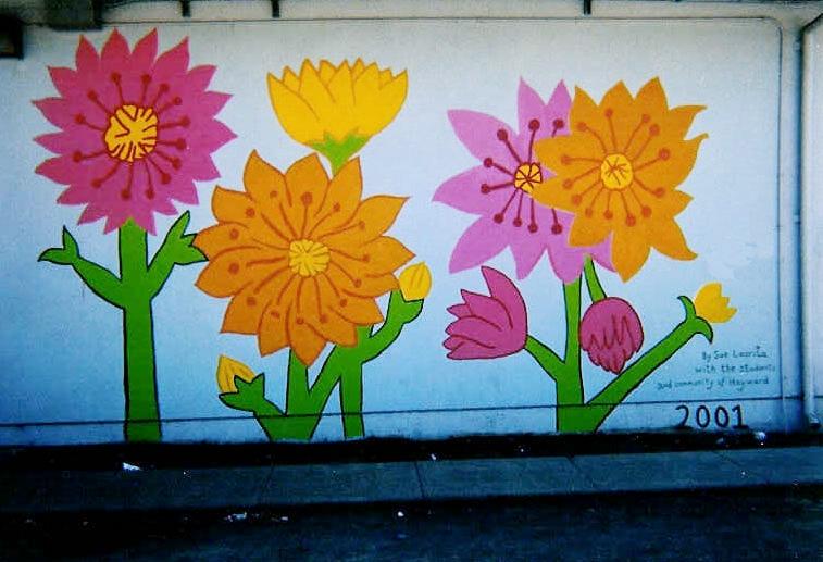 Mural at Cesar Chavez