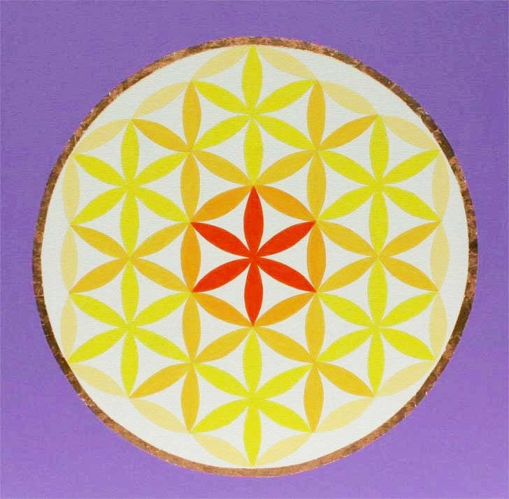 """Mandala Mandala 20"""" x 20"""""""