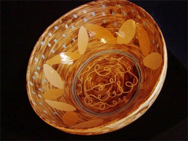 """Large Potatoes Bowl 8"""" x 15"""" diameter"""