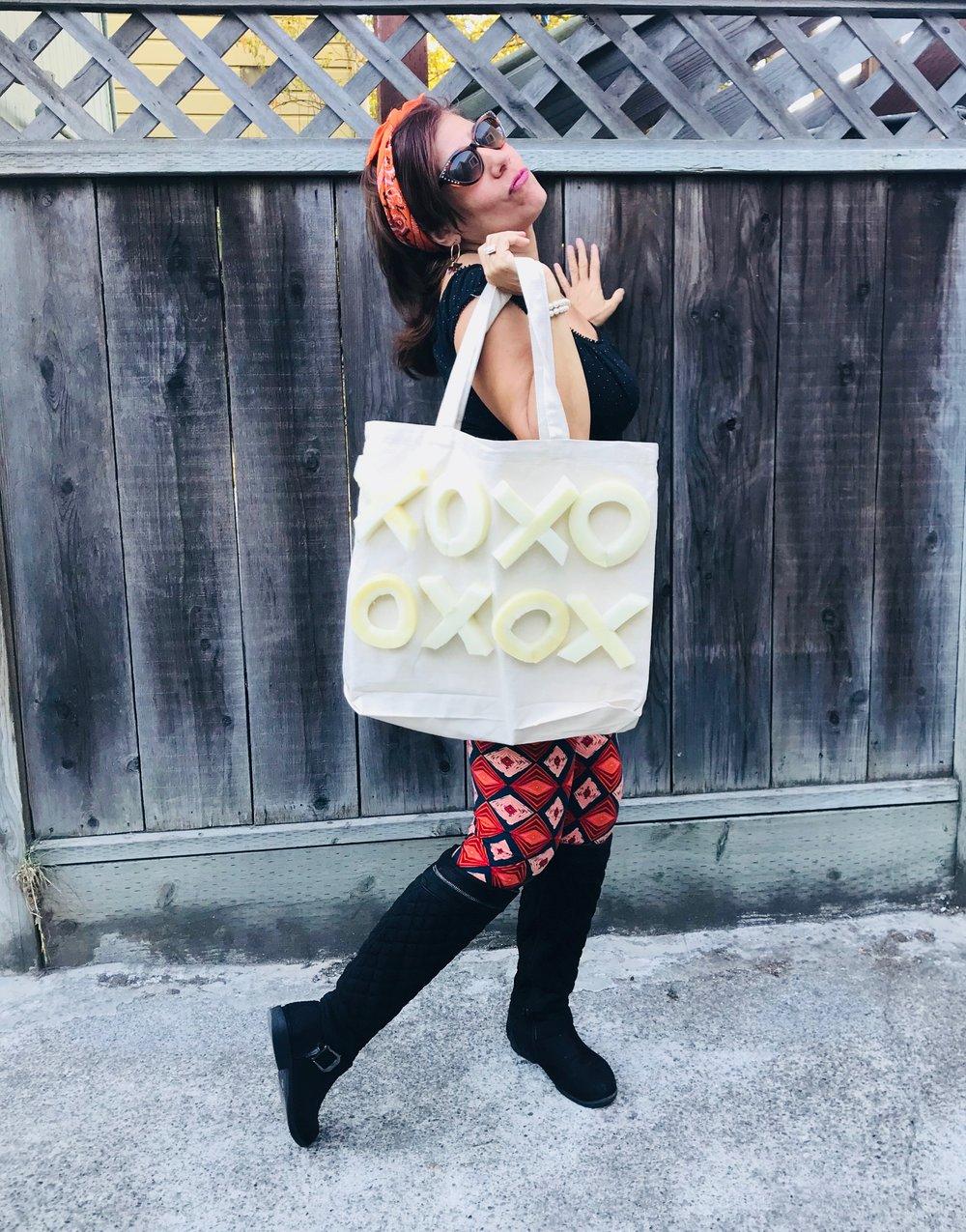 Day 288. XOXO Tote Bag