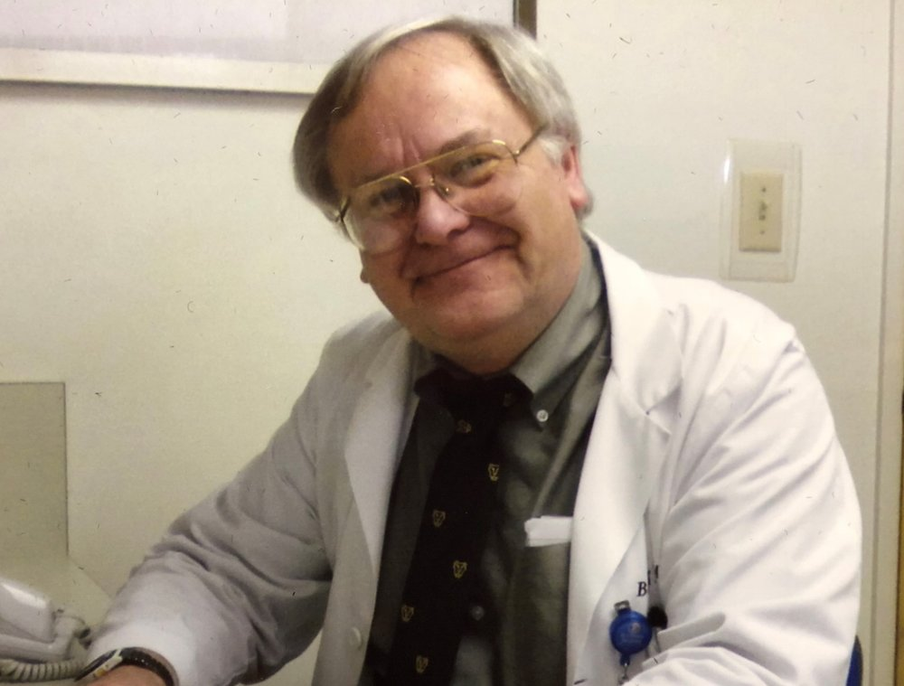 Dr Bruce Beck, retired Pulmonologist, past ECH QA Director