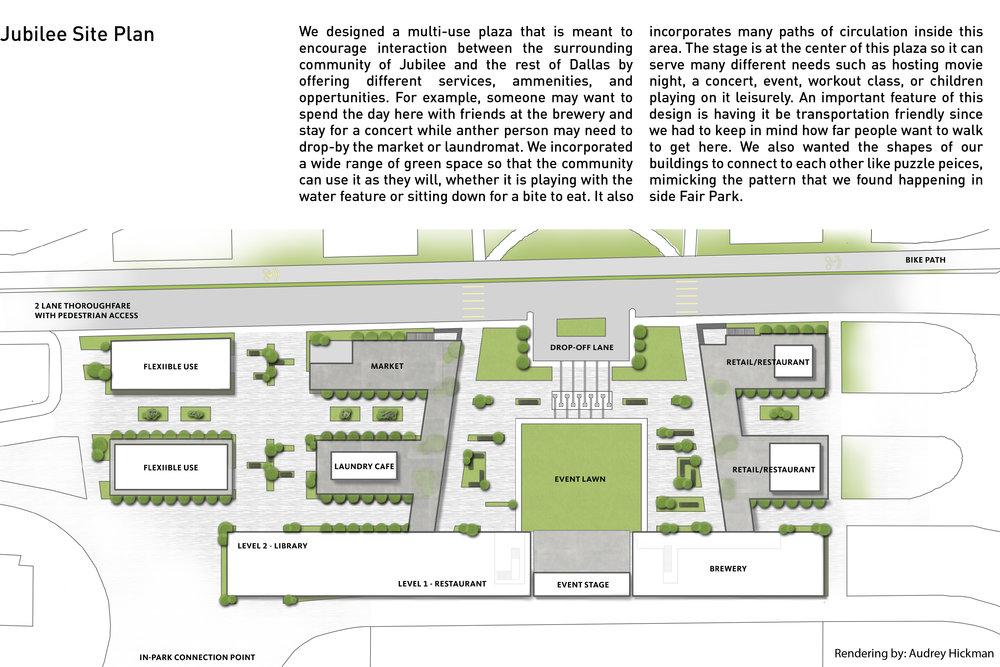 Jubilee Site Plan