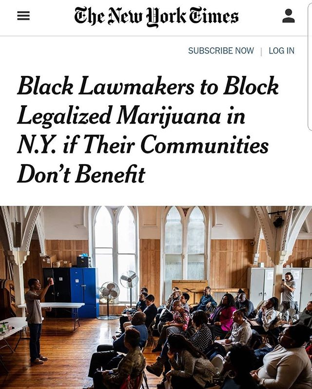 💥 🔥This. #cannabisequity #cca #craftcannabis ⠀#repost @cannacultural⠀• • •⠀@ebcconnects @420sight @nytimes @womengrow #educate #community #thefuture #breakingbarriers #endthestigma #church #wearecannabisculture #youarecannaculture