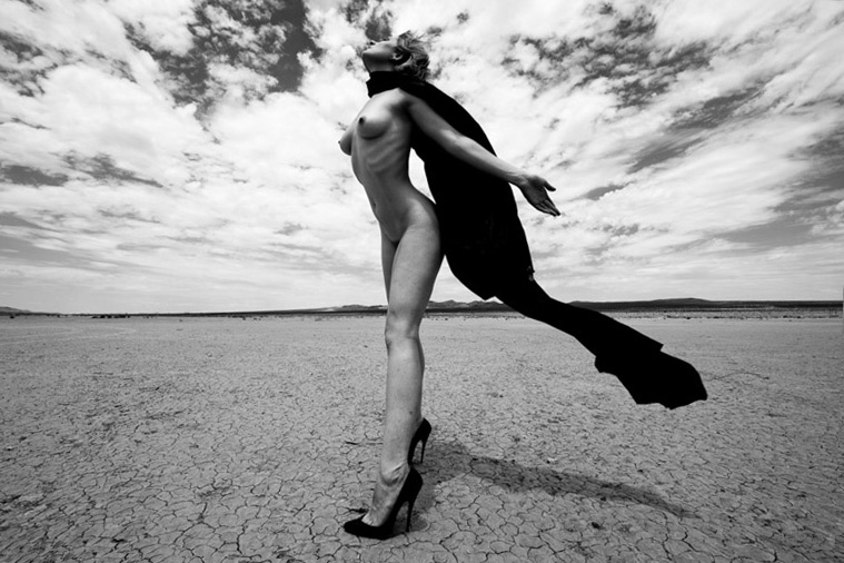 Desert Nude at El Mirage, CA (2011)