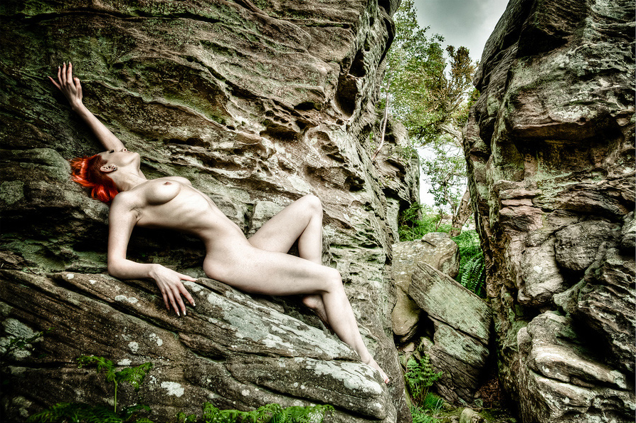 Nude in Nature, Northumberland, UK (2011)