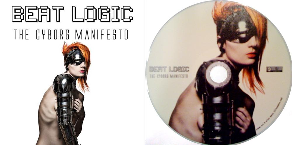 Beat Logic Cyborg Manifesto CD cover