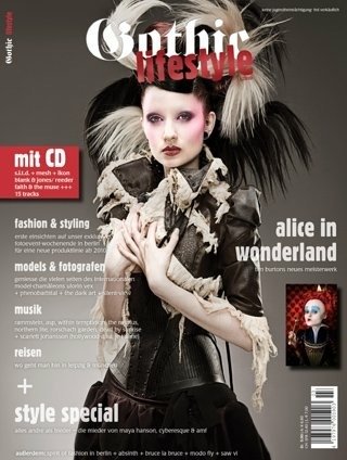 Gothic Lifestyle magazine cover