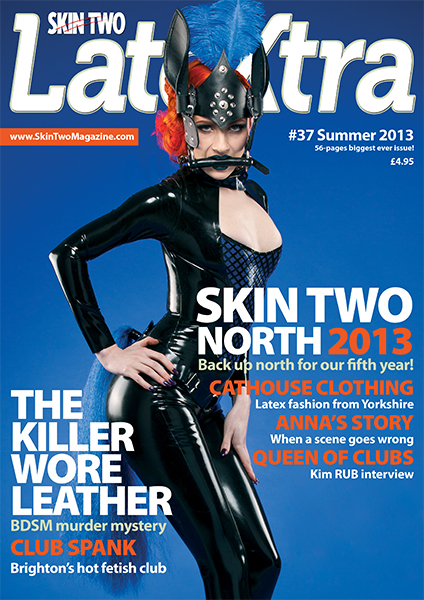 Skin Two Latextra Magazine cover - pony girl
