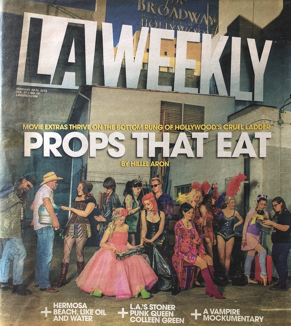 LA Weekly cover story - props that eat