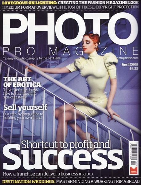 Photo Pro magazine cover