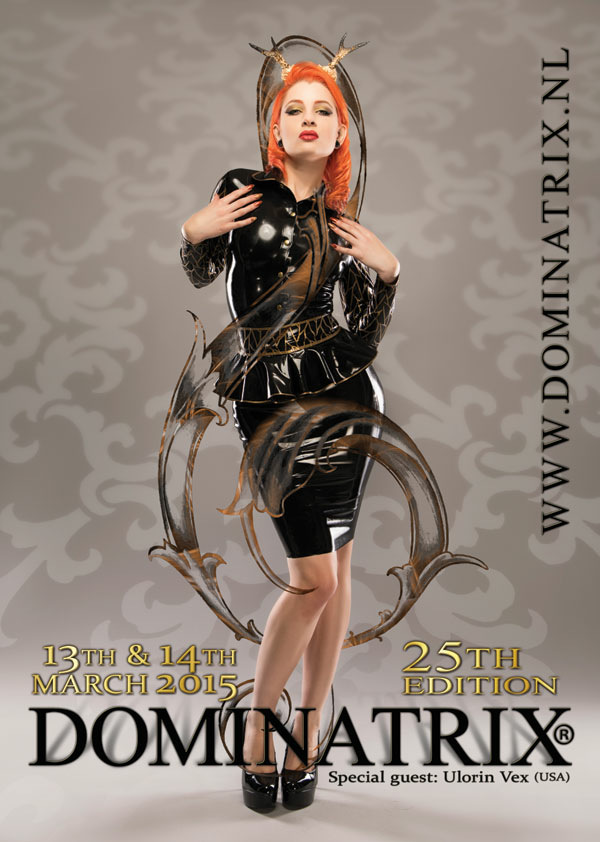 Dominatrix poster girl