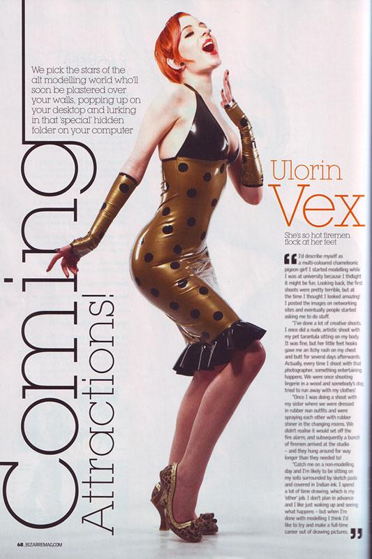 "Bizarre Magazine's ""stars of the alt modeling world"""