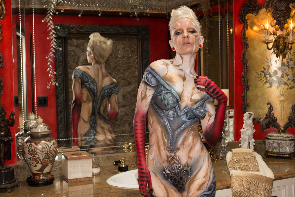 baroque bodypainting