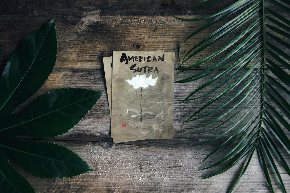 American Sutra Limited Edition Print - by Shumyo Kojima (Zenshuji Soto Zen Mission)