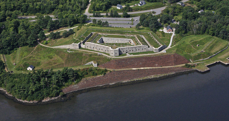 Fort Knox.  Bucksport, Maine.