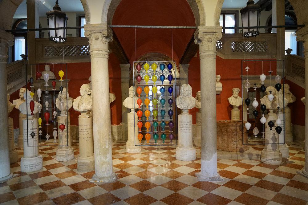 Installation at the Palazzo Loredan