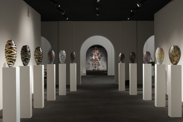 Musee Ariana Geneva Genève Guggisberg Baldwin Vessels Battuto Solo Exhibition