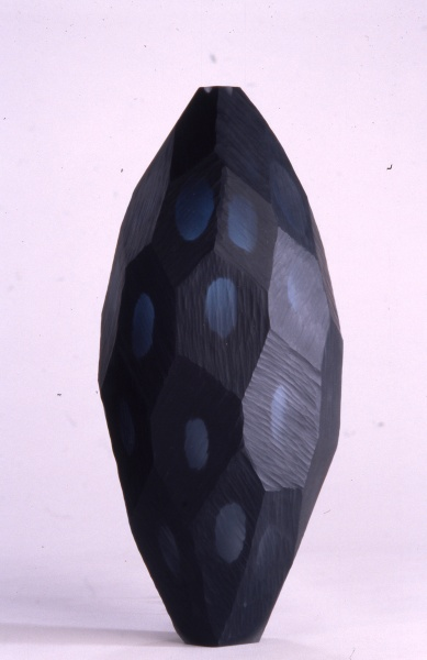 Blue-Black Faceted Night, 1999