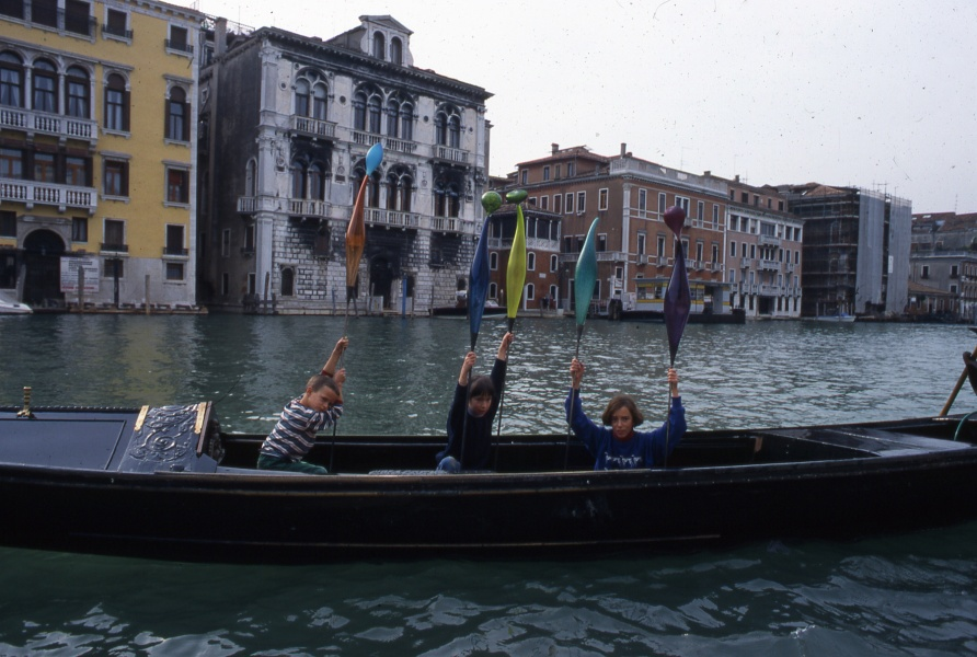 Escort Across the Grand Canal, 1996