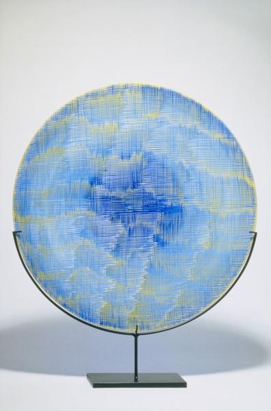 Tessuto in Blu e Giallo, 1995