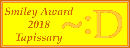 David Peterson gave Tapissary his annual Smiley Award. He lays out the basics of the language in a very clear manner. To see more about it, click here:  NEWS
