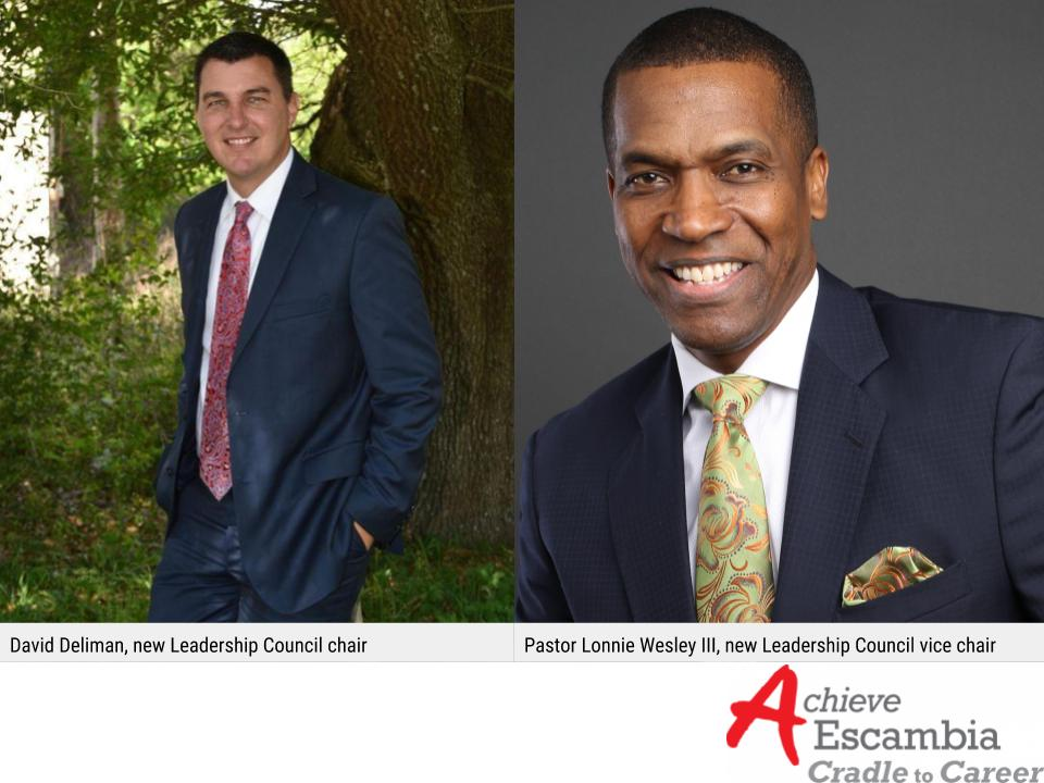 David Deliman, new Leadership Council Chair | Pastor Lonnie Wesley III, new Leadership Council Vice Chair