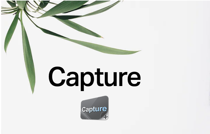 Record and share content. - Record, edit, and share what is happening on your display. Capture includes an easy-to-use editing suite to help bring it all together.